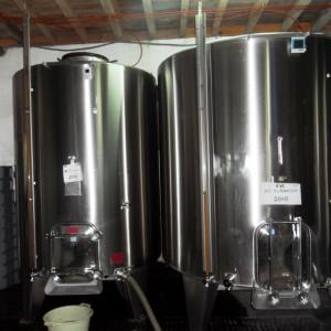 Vinification en cuves inox – Cru Lamouroux – Jurançon
