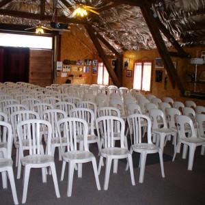 Salle de réception pour les groupes – Cru Lamouroux – Jurançon