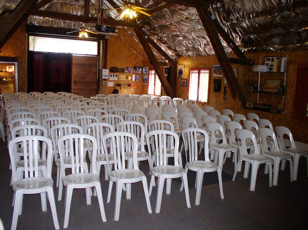 Sala de recepción para los grupos – Cru Lamouroux – Jurançon