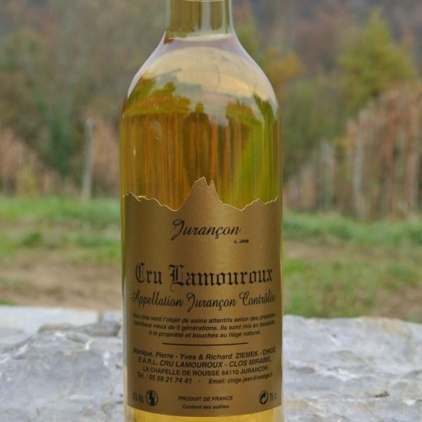 Botella Jurançon tradicional – Cru Lamouroux