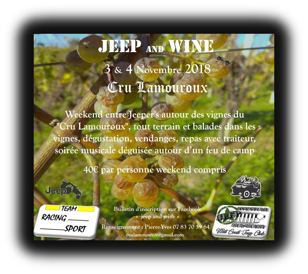 5ème édition du Jeep and wine